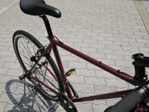 クロモリクロスバイク