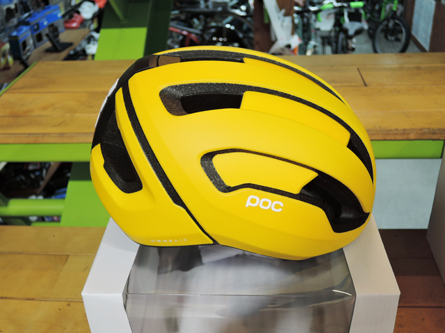 POC OMNE AIR SPIN SULPHITE YELLOW