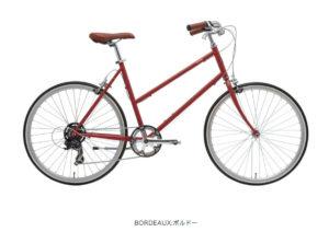 トーキョーバイク BISOU 26 ボルドー