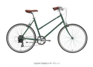 トーキョーバイク BISOU 26 シダーグリーン
