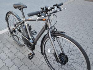 ブリヂストン 電動アシストクロスバイク TB1 e