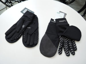 CRAFT 1909836 ADV Lumen Fleece Hybrid Glove 999000 Black